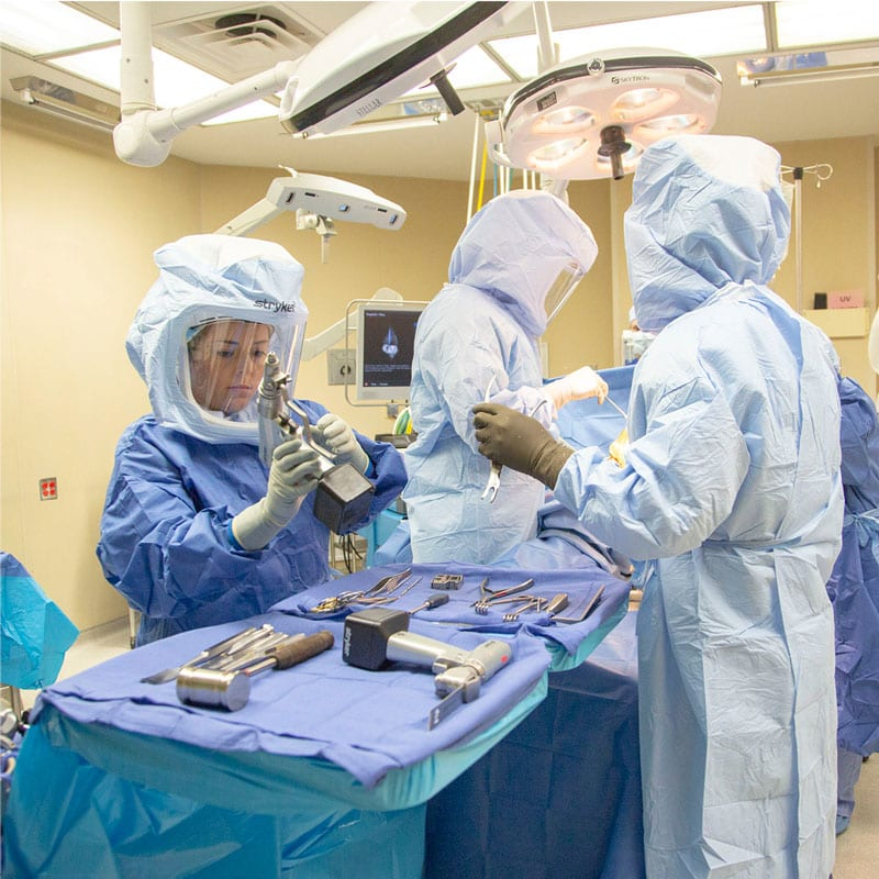 Industry Photography captured by digital marketing team photographer. Doctors preparing for surgery