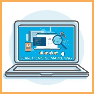 Search Engine Marketing Icon